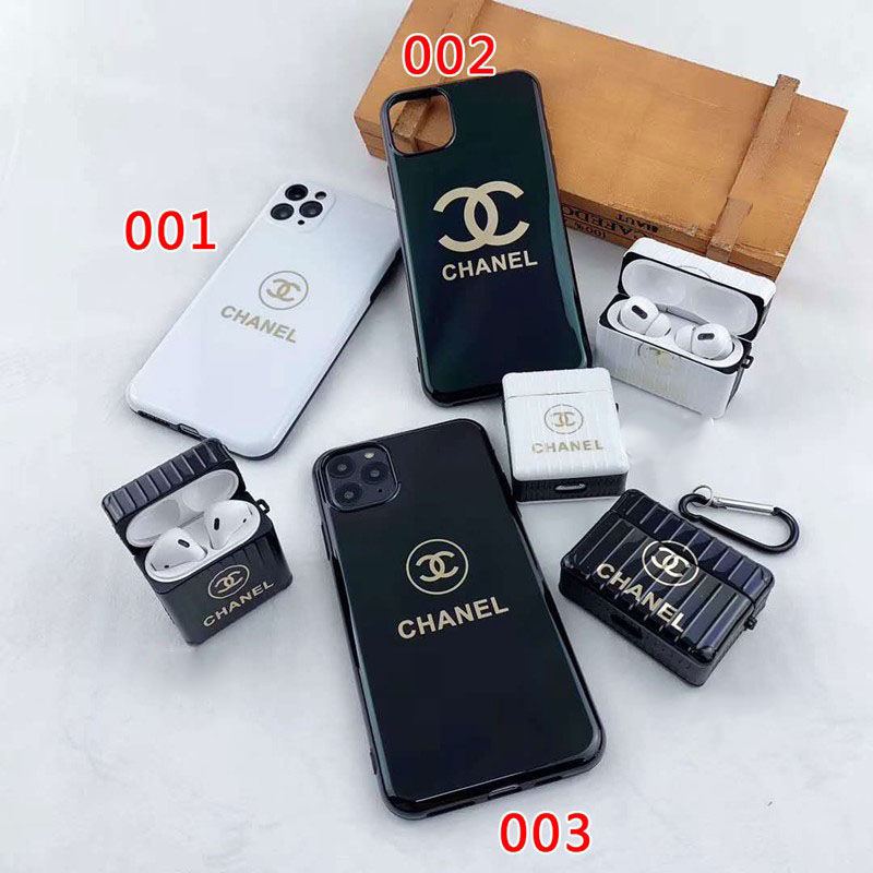 chanel airpods pro1/2case