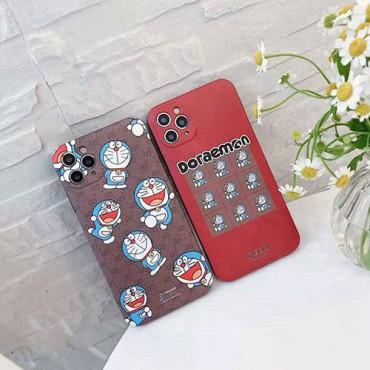 グッチiphone12/12pro max/12 pro/12 miniケースブランドコピーGucciドラえもん連名シリーズ保護ケースかわいいiphone11/11pro maxケースおしゃれiphone x/xr/xs/xs maxケース