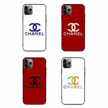 シャネルブランドiphone12/12pro max/12pro/12miniケースファッション潮流HUAWEI Mate 30 Pro 5Gケースシンプル 硝子Galaxy s10/s20+/s20 ultraケースChanelロゴプリント iphone11/11pro maxケース ブランド