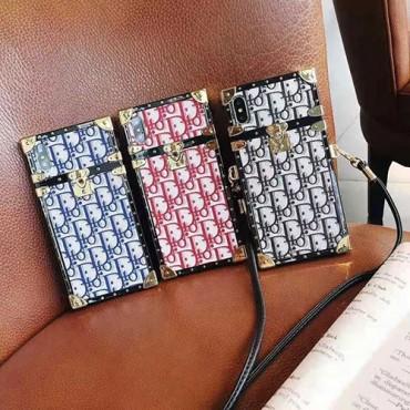 ディオールiphone12/12mini/12pro/12pro max携帯ケースブランドコピー斜めがけiphone11/11pro/11pro maxケースファッション潮流iphone x/xs/xs maxケース芸能人愛用iphone se2/8/7plusケース