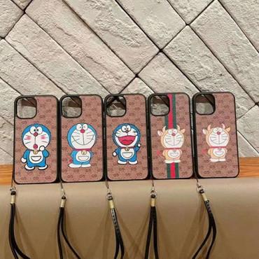 グッチかわいいiphone12/12mini/12pro/12pro maxケースGucciポコニャンiphone11/11pro/11pro maxケースストラップが付きファッションiphone xs/xs max/se2/8/7plus携帯ケース