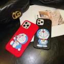 グッチブランドiphone12/12mini/12pro/12pro maxケースかわいい女性向けiphone11/11pro maxケースポコニャンエンボスiphone xr/xs maxケース ファッションアイテムiphone se2/7/8 plusケース