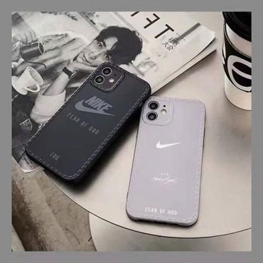 ナイキブランドiphone12/12pro/12pro maxソフトケースファッション無地iphone11/11pro/11pro maxケース男女兼用人気iphone xr/xs/xs maxケースシンプルiphone se2/8/7plusケース