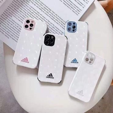 Adidasアディダスiphone12/12pro/12pro maxケースブランド高級人気iphone11/11pro/11pro max携帯カバースタイリッシュiphone xs/xs max/se2/8/7ケース
