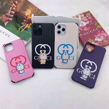 グッチブランドiphone12/12pro max/12mini/12proケースドラえもん定番キャラクター四角いスーツケースiphone11/11 pro max携帯カバーかわいいポコニャンiphone xs/xs max/8/7plusケース