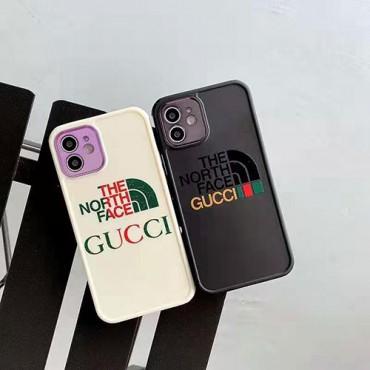 グッチブランドiphone12/12mini/12pro/12pro maxケースザ·ノース·フェイスおしゃれiphone11/11pro/11pro maxケースシンプル潮流iphone xr/xs/ xs max/8/7plus保護ケース激安ファッション