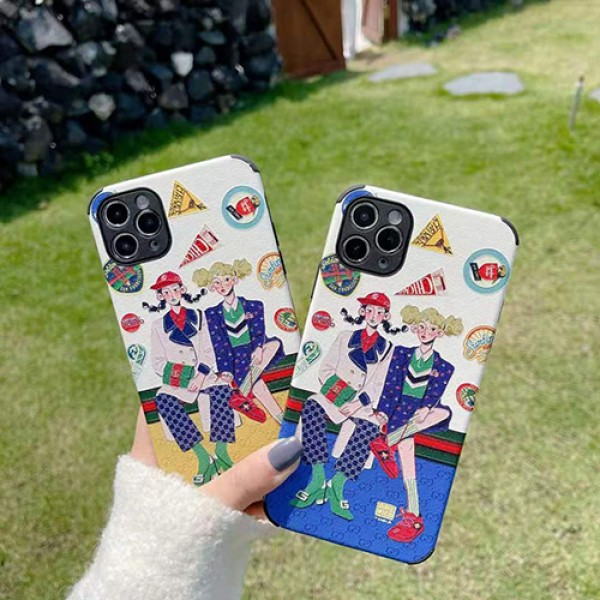 グッチブランドiphone12/12 pro max/12 mini/12 proケースレディースおしゃれiphone11/11 pro/11 pro maxケースファッション潮流iphone x/xs/xr/xs maxケース韓国風iphone se2/8/7plusケース