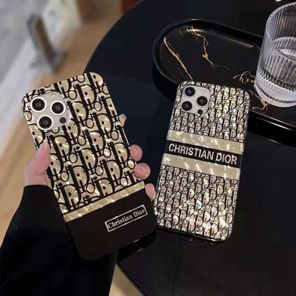 ディオールブランドiphone12/12 pro/12 mini/12 pro maxケースオールパック水立方メッキiphone11/11 pro maxケース新発売Dior経典プリントiphone xs/xs max/8/7plus携帯カバー