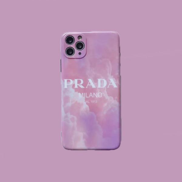 プラダブランド新品iphone12/12pro max/12pro/12miniケースレディースピンクおしゃれiphone11/11pro maxケース全面保護シンプルiphone11pro/x/xs/xs maxケース高品質iphone se2/xr/8/7plusケース