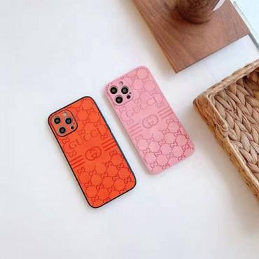 グッチブランドiphone12/12pro max/12pro/12mini/12sケースシンプル経典プリントiphone13/11/11pro maxケース男女兼用人気iphone x/xs/xs maxケースブランド安い