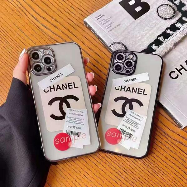 シャネルシンプルiphone12/12pro max/12pro/12mini/12sケースブランドパロディ透明おしゃれiphone13/11/11pro maxケース金属製フレームiphone x/xr/xs maxケース激安ブランドiphone 11pro/xs/se2/8/7plusケース