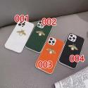 グッチブランドかわいいiphone12/12pro max/12pro/13ケース金具蜂柄付きiphone11/11pro max/11proケース高品質レザーiphone x/xr/xs/xs max/8plus/7plusケース安い