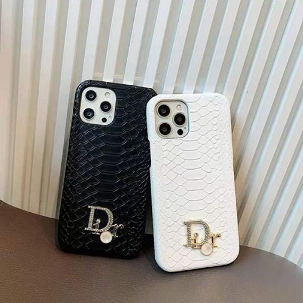 ディオールブランドiphone12/12pro max/12pro/13ケース高級感ワニ紋レザーiphone12mini/11/11pro maxケースおしゃれDiorロゴiphone11pro/x/xs/xs maxケース大人気iphone xr/se2/8/7plusカバー