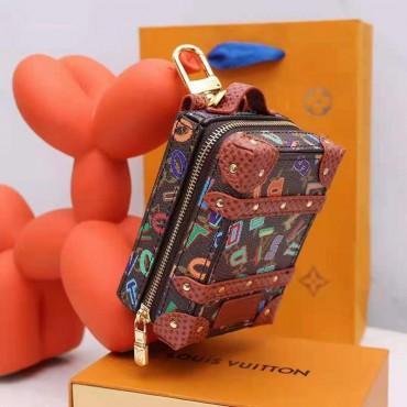 ルイヴィトンブランド高品質ミニバッグairpods 3 proケースファッション 小銭 キー小物 収納でき革バッグ男女兼用人気 高級ブランド