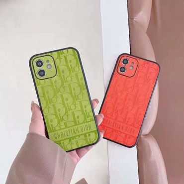 Diorディオールiphone12/12pro/12mini/12pro maxケースブランドファッションiphone13/11/11pro maxケースクラシックプリントiphone x/xr/xs maxケース男女兼用人気iphone xs/se2/11pro max/8/7plusケース