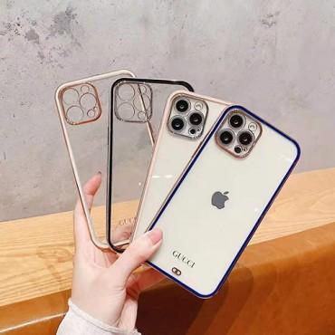 Gucciグッチiphone13/12/12pro max/12pro/12miniケースブランド透明TPUアイフォン11/11pro maxケースシンプル高品質iphone 11pro/x/xr/xs maxスマホケース