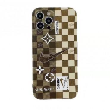 ハイブランドルイヴィトンiphone13ケースファッション潮流ナイキ iphone 12/12pro max/12pro/12miniケースクラシック碁盤縞iphone11/11pro maxケース高品質iphone x/xr/xs maxカバー