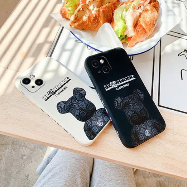 Bearbrickブランドかっこいいiphone13/13miniケースシンプル男女兼用iphone13miniケース全面保護iphone13ケース