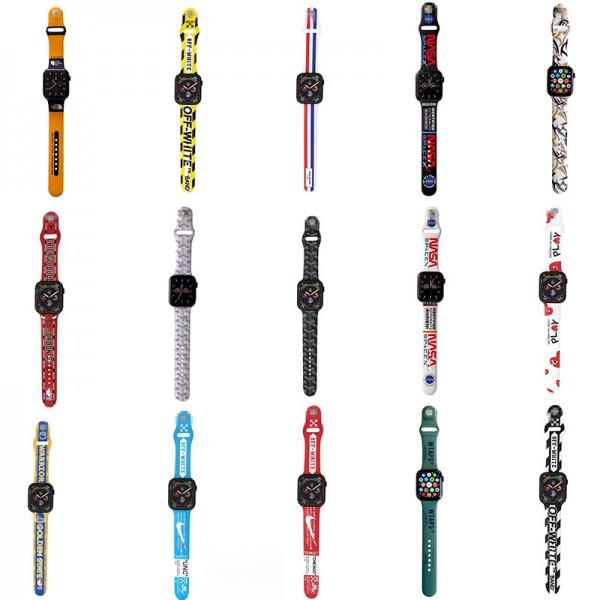 ハイブランドザノースフェイスアップル ウォッチ6/seベルトファッションナイキ オフホワイトApple watch 3/4/5/6バンドストリート高品質レディースメンズ