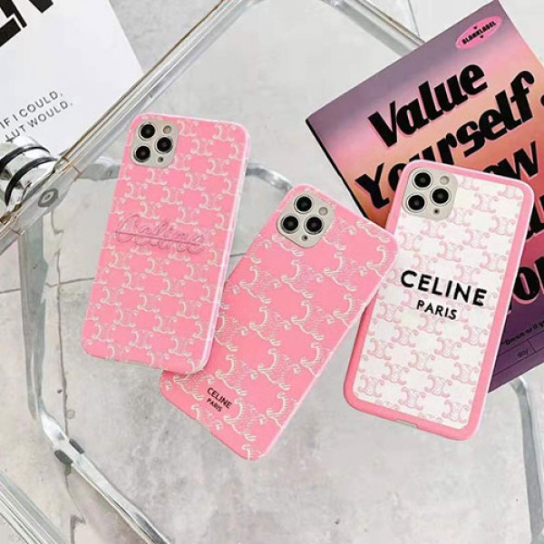 セリーヌ女性向け iphone12/12pro max/12 pro/12 miniケースファッション 個性潮 iphone x/xr/xs/xs maxケース かわいい iphone11/11pro maxケースセレブ愛用iphone8/7plusケース  激安