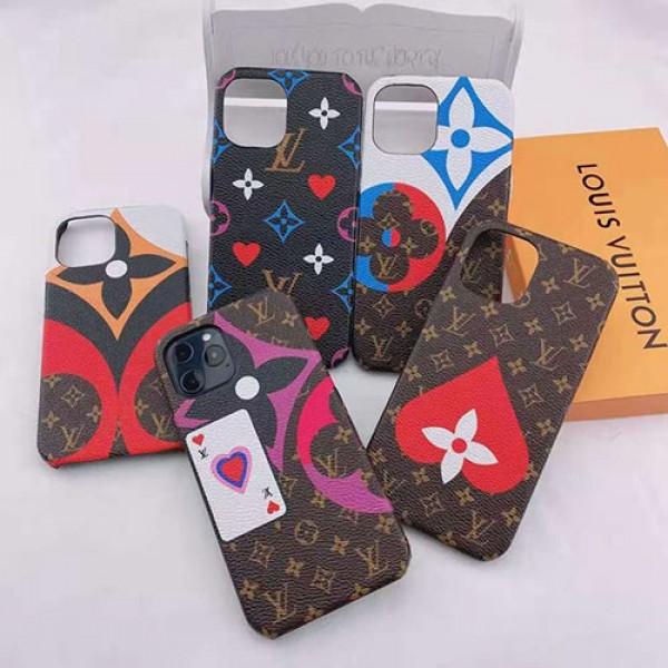 ルイヴィトンブランド iphone12/12pro max/12 miniケース ファッション セレブ愛用 iphone xr/xs max/11pro/11 pro maxケース大人可愛い LV  iphone x/8/7 plusケース大人気