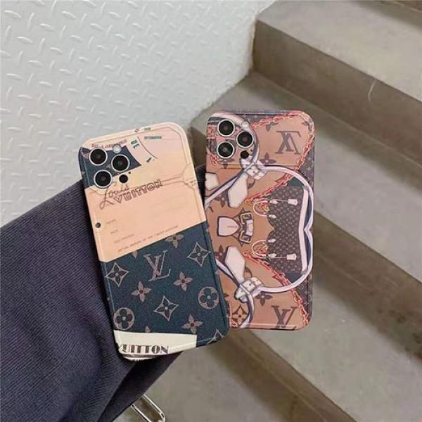 ルイヴィトンファッションiPhone12/12 pro/12 mini/12 pro maxケース経典LV風 iphone11/11pro max/11 proケースセレブ愛用  iphone xr/xs max/8/7 plusケースブランド