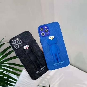 カウズブランド iphone12/12pro max/12 pro/12 miniケース かわいいキャラクター iphone xr/xs max/se2ケースレディース iphone 11/11 pro max/8 /7plusケース ブランド男女兼用人気