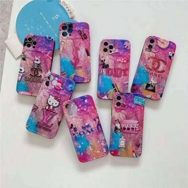 ブランドシャネル風 iphone 12/12 pro max/12 pro/12 miniケースルイヴィトンかわいいiphone11/11pro maxケースグッチ女性向け iphone x/xs/xr/xs maxケースコーチディズニーiphone 8/se2/7 plusケース