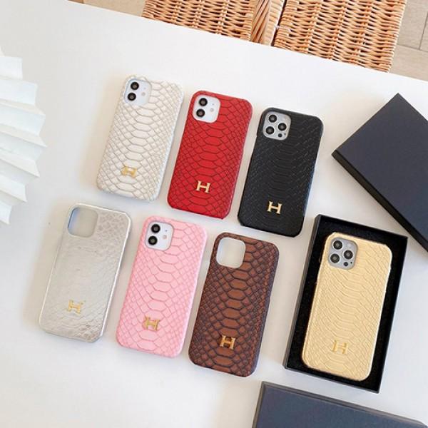エルメスブランドiphone12/12pro max/12pro/12miniケース高品質なレザーiphone11/11pro max/11proケースHermes金具ロゴつきiphone x/xs/xs maxケース男女兼用iphone xr/se2/8/7plusケース