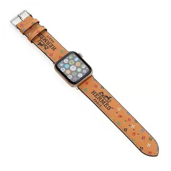 エルメスブランドアップル ウォッチ6/seストラップグッチファッションApple Watchレザーバンド男女兼用アップル ウォッチバンド