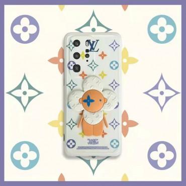 ルイヴィトンブランドかわいいiphone12/12pro/12pro maxケース花柄キャラクタープリントiphone11/11pro maxケースおしゃれ個性iphone x/xr/xs/xs max/se2/8plus携帯カバー