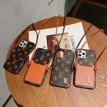 ルイヴィトンレディース向けiphone12/12pro max/12pro/12miniケースブランドカードポケット付きiphone11/11pro max/11 proケース高級感人気iphone x/xs/xr/xs maxケースブランド