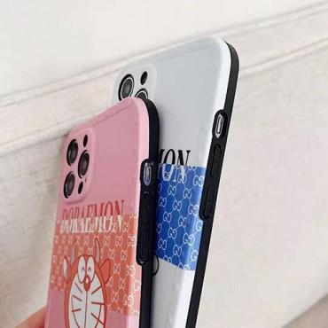 ブランド風グッチiphone12/12pro max/12mini/12proケースかわいいポコニャン絵柄iphone11/11pro max保護ケース男女兼用人気iphone x/xr/xs maxケースファッションiphone se2/8/7plusケース