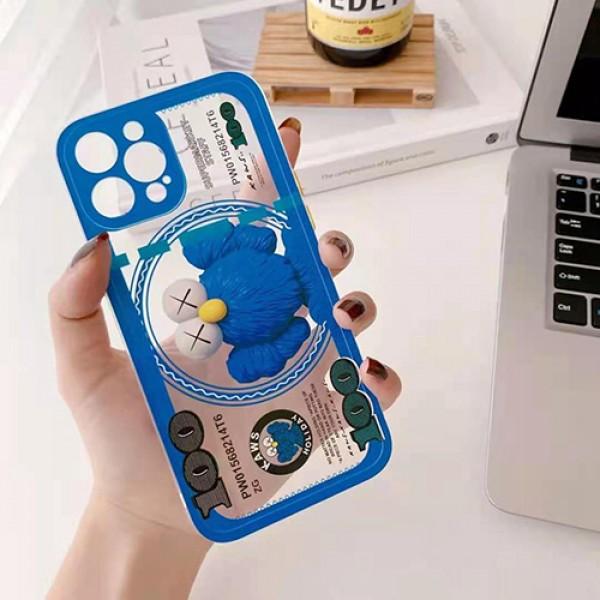 カウズブランドiphone12/12pro/12mini/12pro maxケースかわいいキャラクター柄iphone11/11pro/11pro maxケースファッション個性iphone xs/xs max/se2/8/7plus保護ケース激安