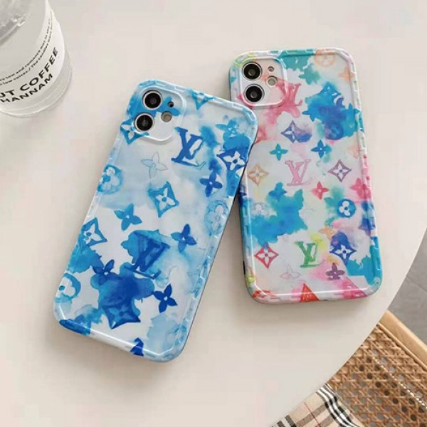 ルイヴィトンブランド夏風iphone12/12 pro max/12 mini/12 proソフトケースおしゃれiphone11/11 pro/11 pro max保護ケースファッションカップルiphone x/xs/xr/xs maxケース大人気iphone se2/8/7plusケース