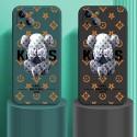 カウズブランドiphone13/13pro/13pro maxケースファッションパロディKaws かわいいiphone12/12pro max/12proケース男女兼用人気iphone11/11pro maxカバー全面保護アイフォンケース