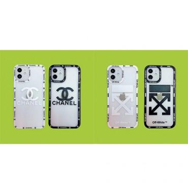ブランドシャネルアイフォン13/13proケースシンプル透明すりiphone13mini/13pro maxケースオフホワイト取り外し可能なフレームiphone12/12mini/12pro/12pro maxケース立体レリーフ薄型デザインiphone11/11pro maxケース