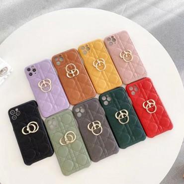 ディオールブランドiphone13ケース高品質レザーiphone13pro/13pro max/13minケース豊か色ファッションiphone12/12pro/12mini/12pro maxケース金具リング付きiphone11/11pro max/11proケース
