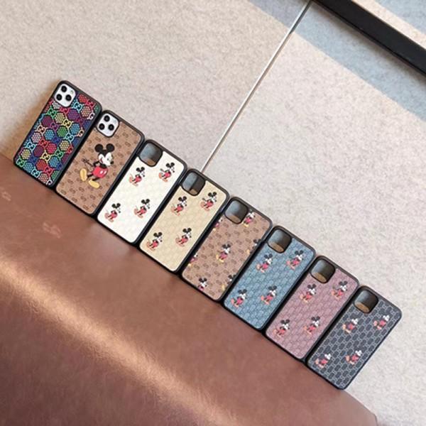 グッチハイブランドiphone13/13mini/13pro max/13proケースかわいいミッキー絵柄iphone12/12pro/12mini/12pro maxケースルイヴィトン定番プリントiphone11/11pro maxケース大人気