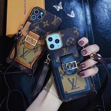 ルイヴィトンブランドiphone13/13mini/13pro max/13proケース高級感 贅沢 iphone12/12pro/12mini/12pro maxケースカードポケット付き人気iphone11/11pro max/11proケース斜め掛け可能レディース