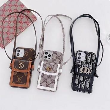 ルイヴィトンiphone13/13pro maxケースブランドファッションレディースグッチiphone13mini/13pro/12pro maxケースディオール定番プリントiphone12/12mini/12proカバーカードポケット付き収納