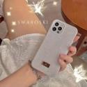 スワロフスキーブランドiphone13/12ケースシンプルキラキラiphone13pro/13mini/13pro maxケース高級感人気iphone12pro/12pro max/12miniケースレディース向け
