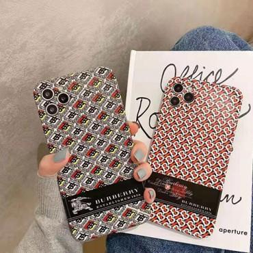 バーバリー iphone 12 ケースブランド iphone12mini/12pro maxケース かわいいペアお揃い アイフォン11ケース iphone 8/7 plus/se2ケース個性潮 iphone x/xr/xs/xs maxケース ファッションins風ケース かわいい