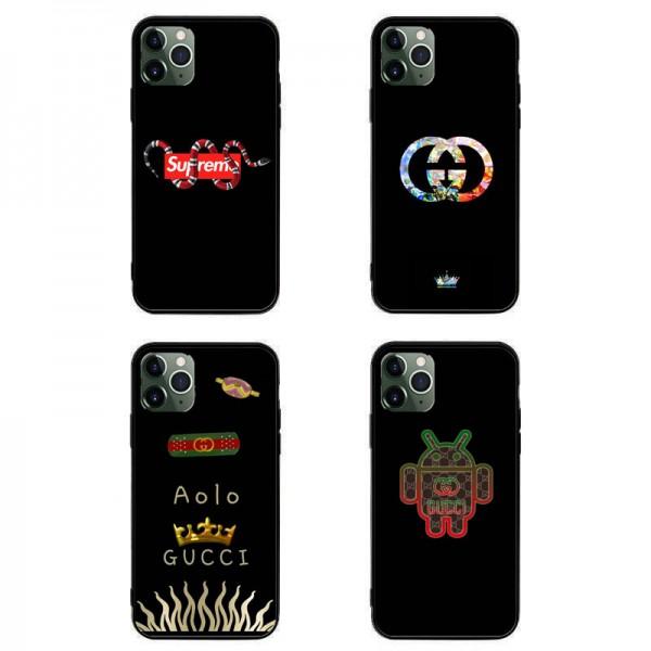 グッチ ブランドかっこいいiphone 12 /12 pro/12 mini/12 pro maxケースほぼ全機種対応シュプリーム Galaxy s10/s20+/s20 ultraケース個性潮 パロディ風Huawei mate 30 pro 5Gケースブランド