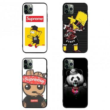 シュプリームブランド iphone12/12 pro/11/11pro maxケース 個性潮 iphone x/xr/xs/xs maxケース 経典 メンズ Galaxy s10/s20+/s20 ultraケース漫画のキャラクター HUAWEI Mate 30 Pro 5Gケース送料無料
