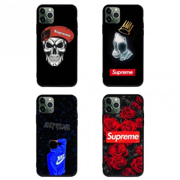 シュプリームブランドローズ iphone12/12 pro/11/11pro maxケース 個性潮 iphone x/xr/xs/xs maxケース ファッションins風  Galaxy s10/s20+/s20 ultraケース ナイキ HUAWEI Mate 30 Pro 5Gケースブラント通販