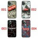 シュプリームブランド 個性潮 iphone12/12 pro/11/11pro maxケースドル ins風iphone x/xr/xs/xs maxケース ファッション銃弾 弾丸  Galaxy s10/s20+/s20 ultraケース キャラクターHUAWEI Mate 30 Pro 5Gケース新作人気