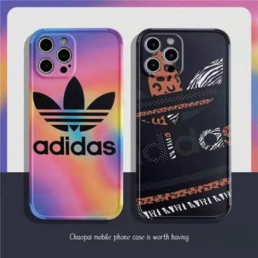アディダス ブランドiphone 12 /12 pro/12 mini/12 pro maxケース adidasスポーツ風iphone11/11pro/11pro maxケースオシャレ人気 iphone x/xs/xs max保護ケースファッション
