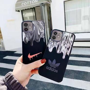 アディダス ブランド iphone 12/12 pro/12 pro maxケース ナイキ男女兼用人気 iphone11/11pro maxケース スポーツ風iphone x/xr/xs/xs maxケースファッション ins風iphone se2/8/7plus携帯カバー