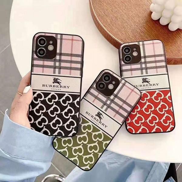 バーバリー ブランド iphone 12/12 pro/12 pro maxケースburberryロゴ付きiphone11/11pro maxケース 個性 iphone x/xr/xs/xs maxケース韓国風